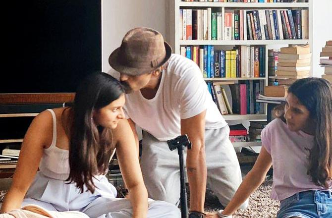 Arjun Rampal Finally Spends Some Time With Her Two Beauties, Her Daughters Mahikaa And Myra
