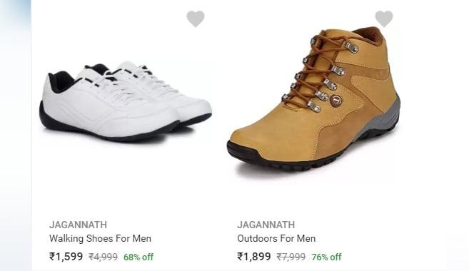 Jagannath' Shoes Being Sold On Flipkart