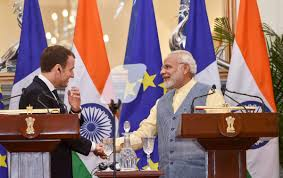 pm of france- india