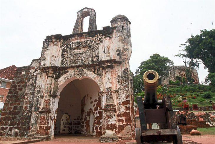 Pada mulanya, pada tahun 1952 merupakan cabang dari fakultas. Sejarah Kota A Famosa Yang Dibina Dari Batu Masjid Dan