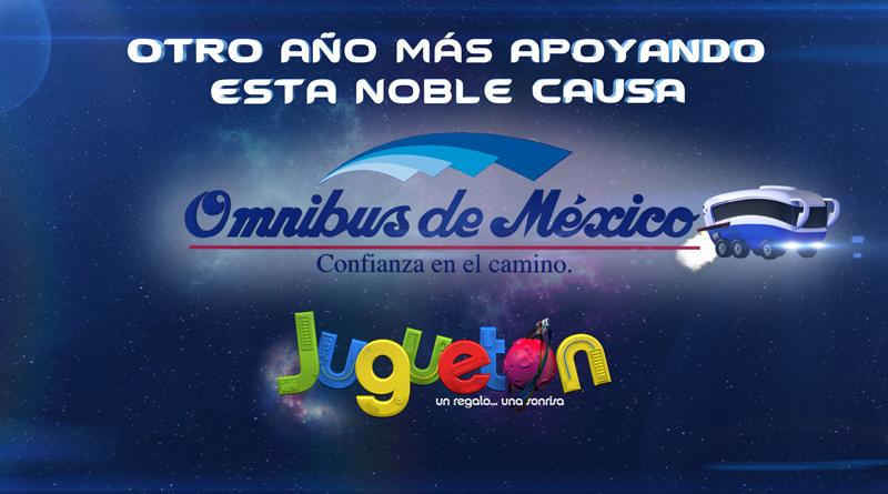 omnibus de México apoyando al juguetón