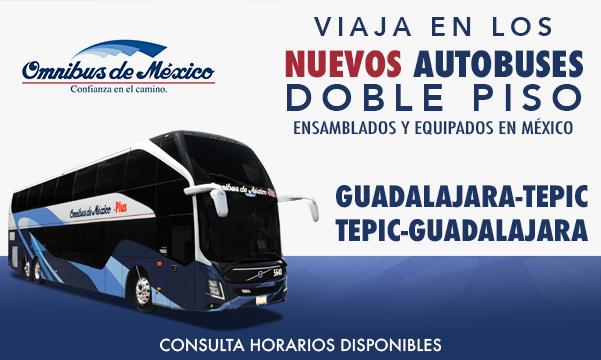 boletos de autobus doble piso omnibus de mexico