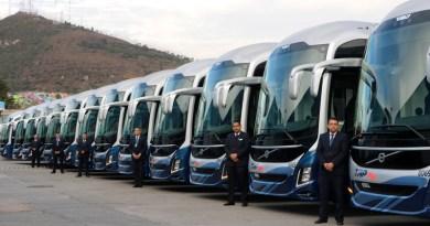 Transportes del Pacífico presenta sus nuevos autobuses servicio plus