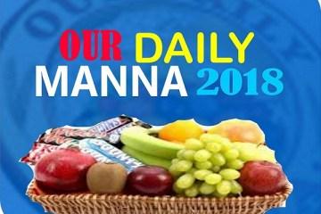 Daily Manna ODM January 13, 2018
