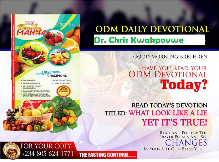 About Our Daily Manna