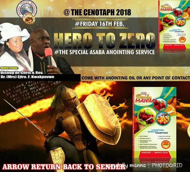 Hero to Zero Asaba Anointing Service