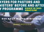 PRAYERS FOR PASTORS MINISTERS'