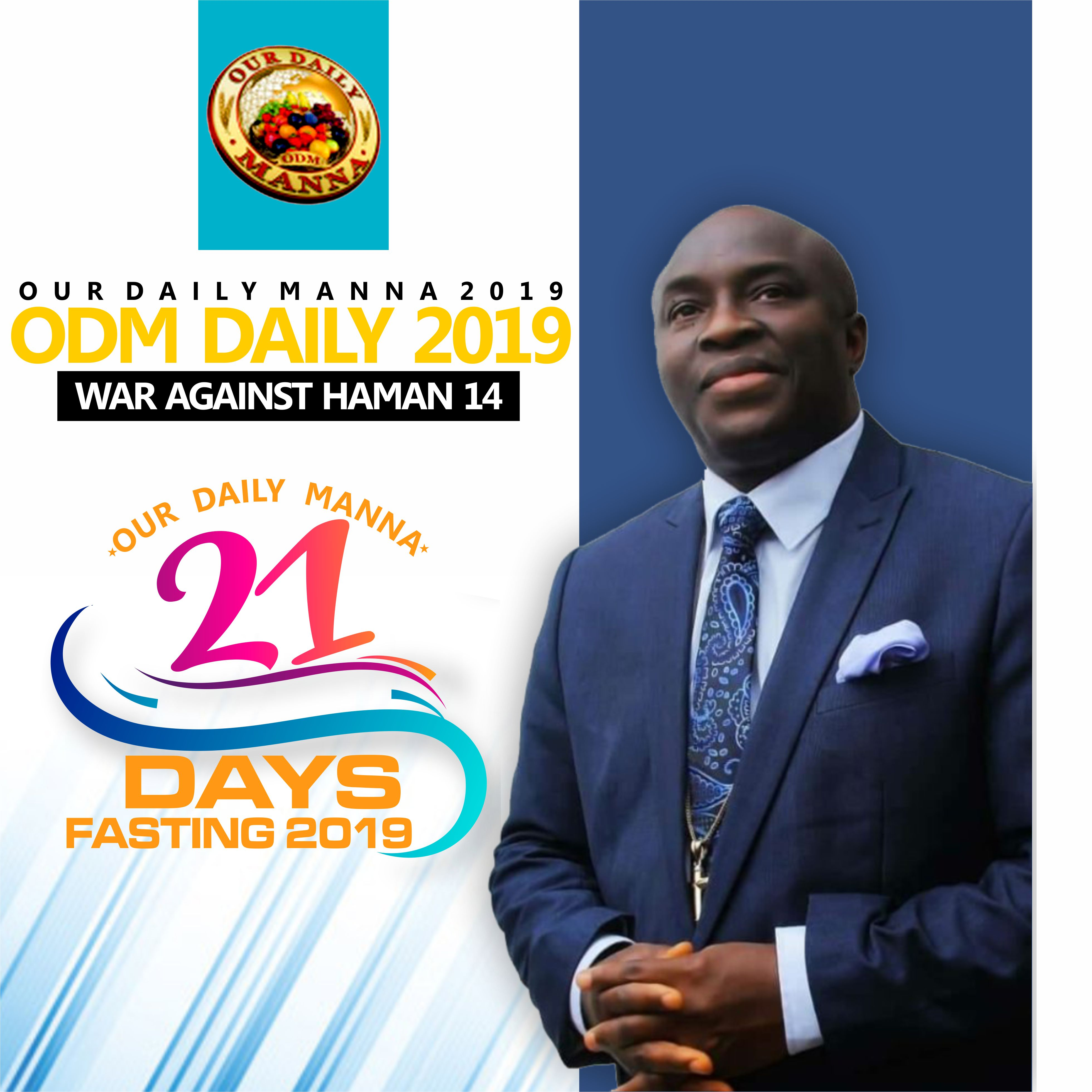 War Against Haman 14 Prayer Points- Our Daily Manna FASTING