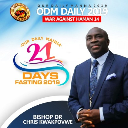 Our Daily Manna Devotional 22 January 2019