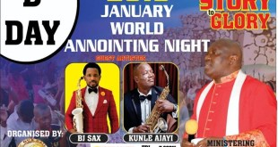 Our Daily Manna World Anointing Night 2019