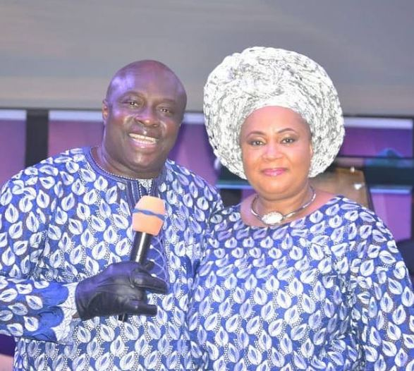 Bishop Dr Chris and Wife