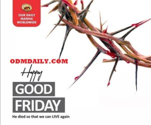 Our Daily Manna 6th April 202