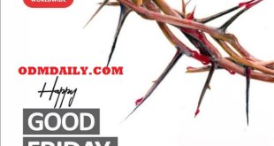 OUR DAILY MANNA GOOD FRIDAY