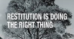 DO YOU KNOW WHAT RESTITUTION MAKING REALLY IS?