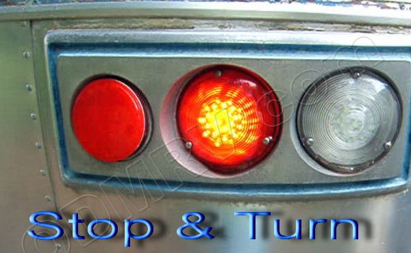 Trailer Wire Diagram Led Tail Light Kit For Airstream Units From 1965 74 Led