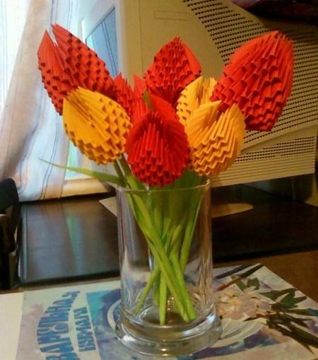 28729427b4d Hromadné papierové kvety A4. Papierové kvety to robia sami. Schémy ...