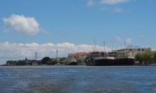 Antiguos buques de la Autoridad Marítima del Bajo Danubio