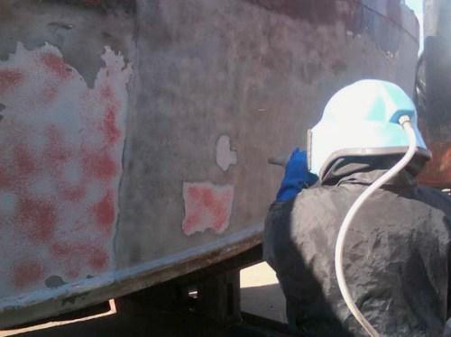 химическая очистка стен от краски