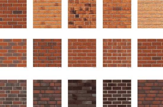клинкерная фасадная плитка - разновидности