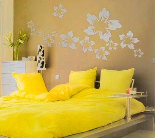 цвет стен в спальне, рисунок