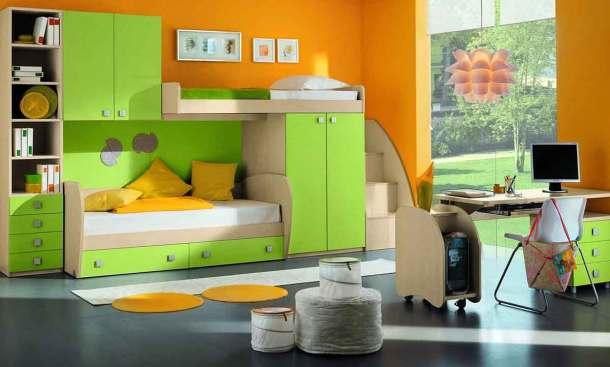 красивая мебель в детской комнате