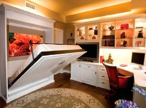 многофункциональная спальня и кровать-трансформер