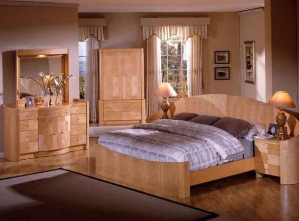 расстановка спальной мебели