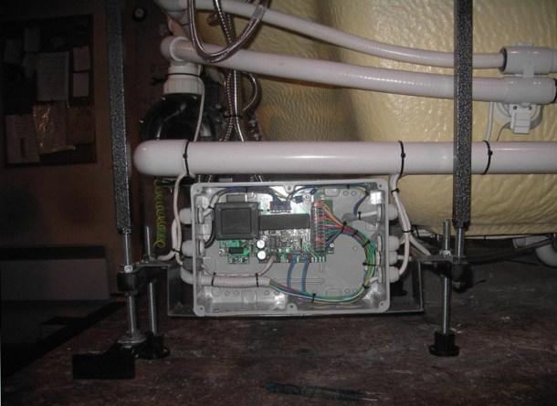 оборудование гидромассажной ванны