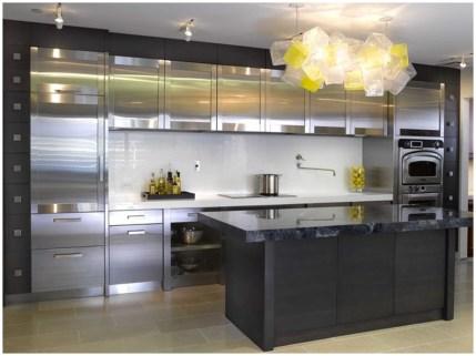 Стиль Хай-Тек в дизайне кухни