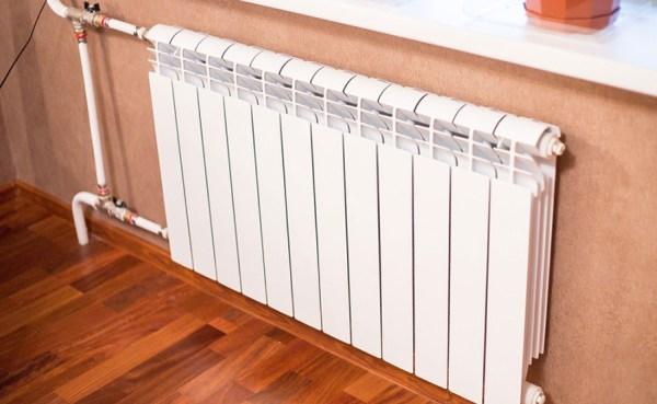 радиатор отопления белый