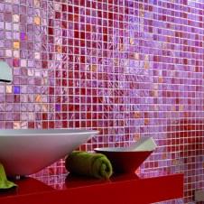 Смальтовая мозаика (матрица 30х30см) в ванной