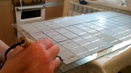 Пайка солнечных пластин