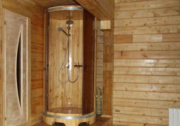 баня с душем