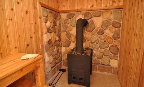 дровяная печь в бане
