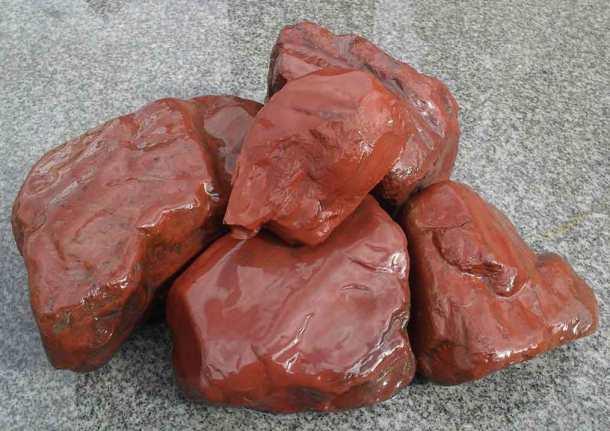 Яшма сургучная - банный камень