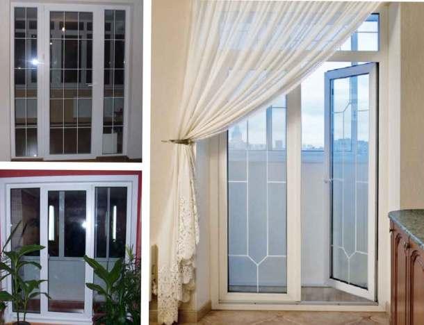 окна балконный блок