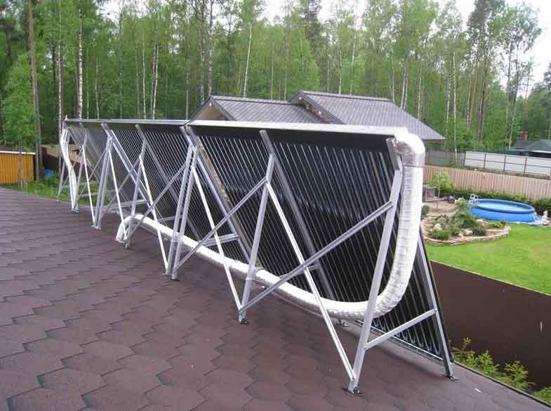 Вакуумный солнечный коллектор своими руками фото 182