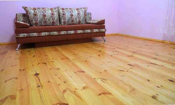 деревянный пол с утеплением