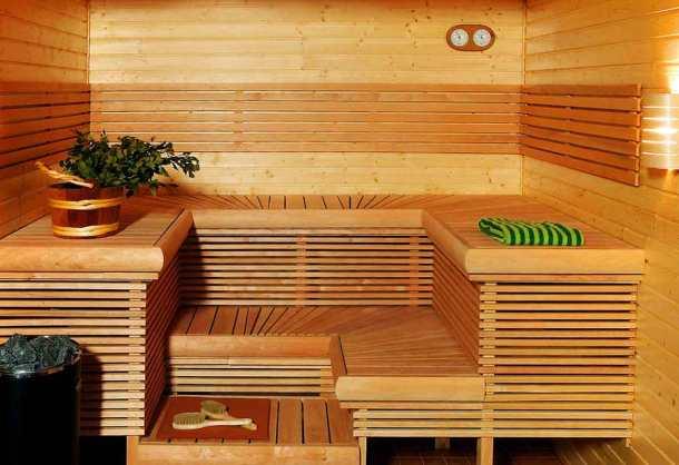 Парная комната в бане