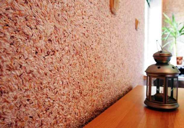 покрытие стен флоком