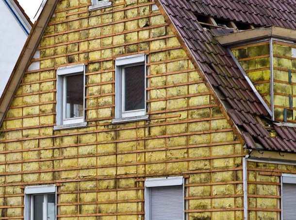 утепление наружных стен дома