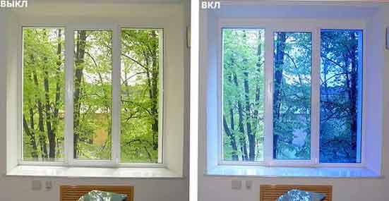 умные окна с электрохромными стеклами