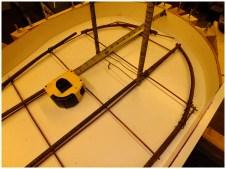 Усиление армирование формы 9мм прутом