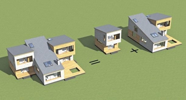 дом конструктр, проект