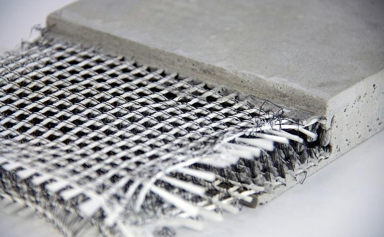 углебетон, бетон армированный углеродным волокном