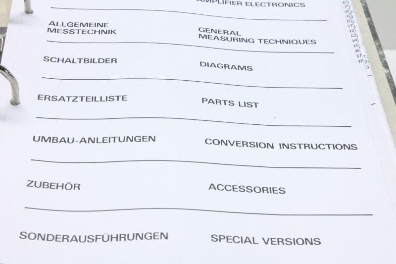 Studer A80 MK 1 VU Service Manual with schematics (No.1)