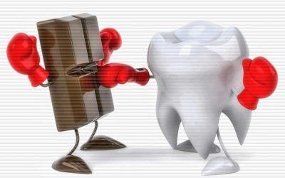 O Chocolate e os Seus Dentes