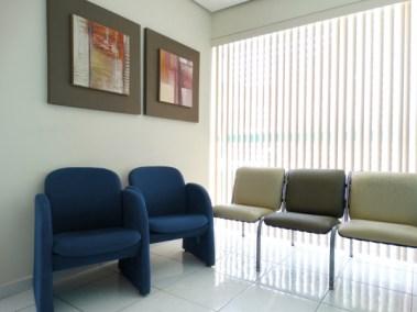 Sala de Espera da Clínica Odonto Salles
