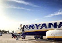 Ryanair lietadlo