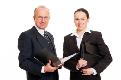 muž a žena práce
